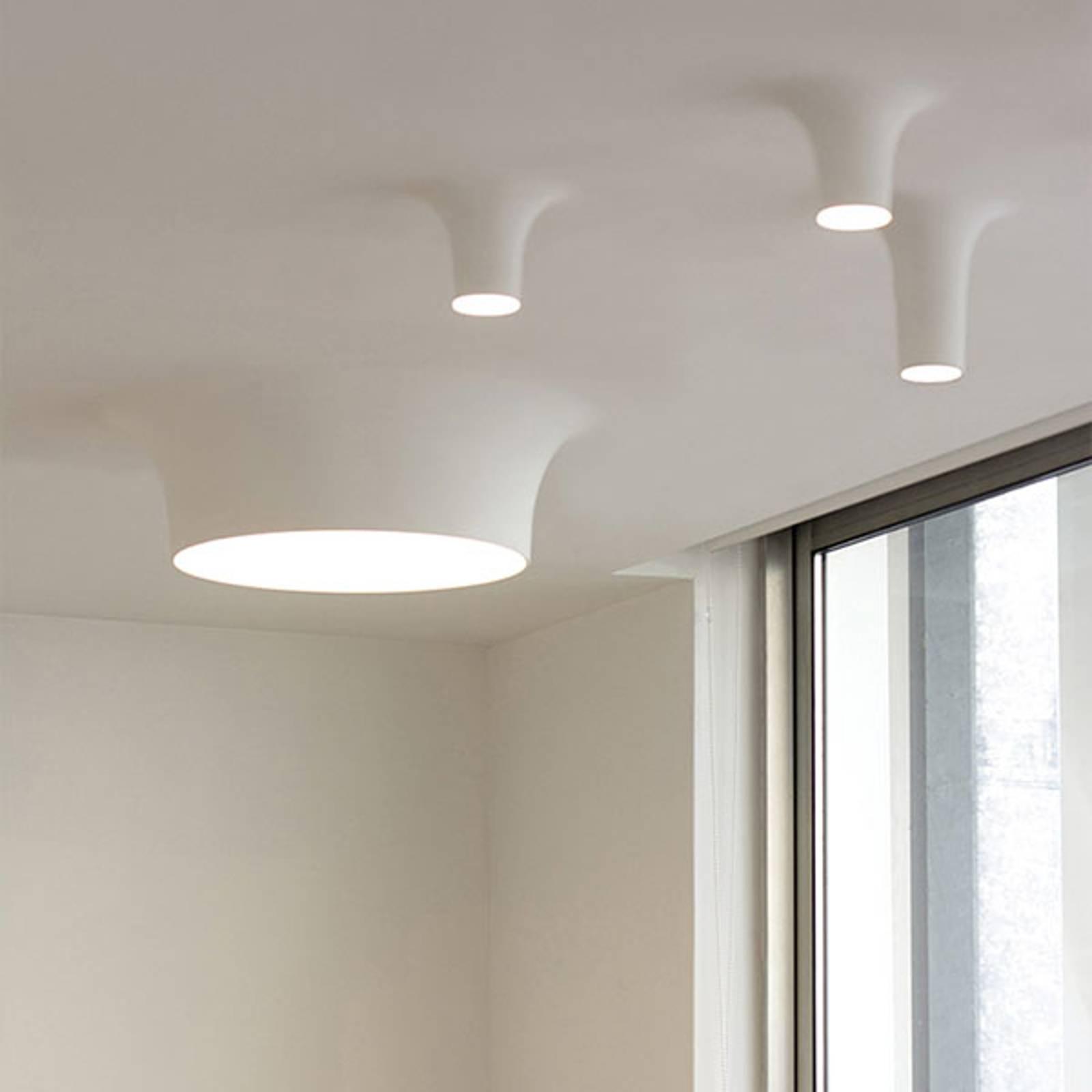 LED-kattouppolamppu 8935B, 2 700K, 68x68cm