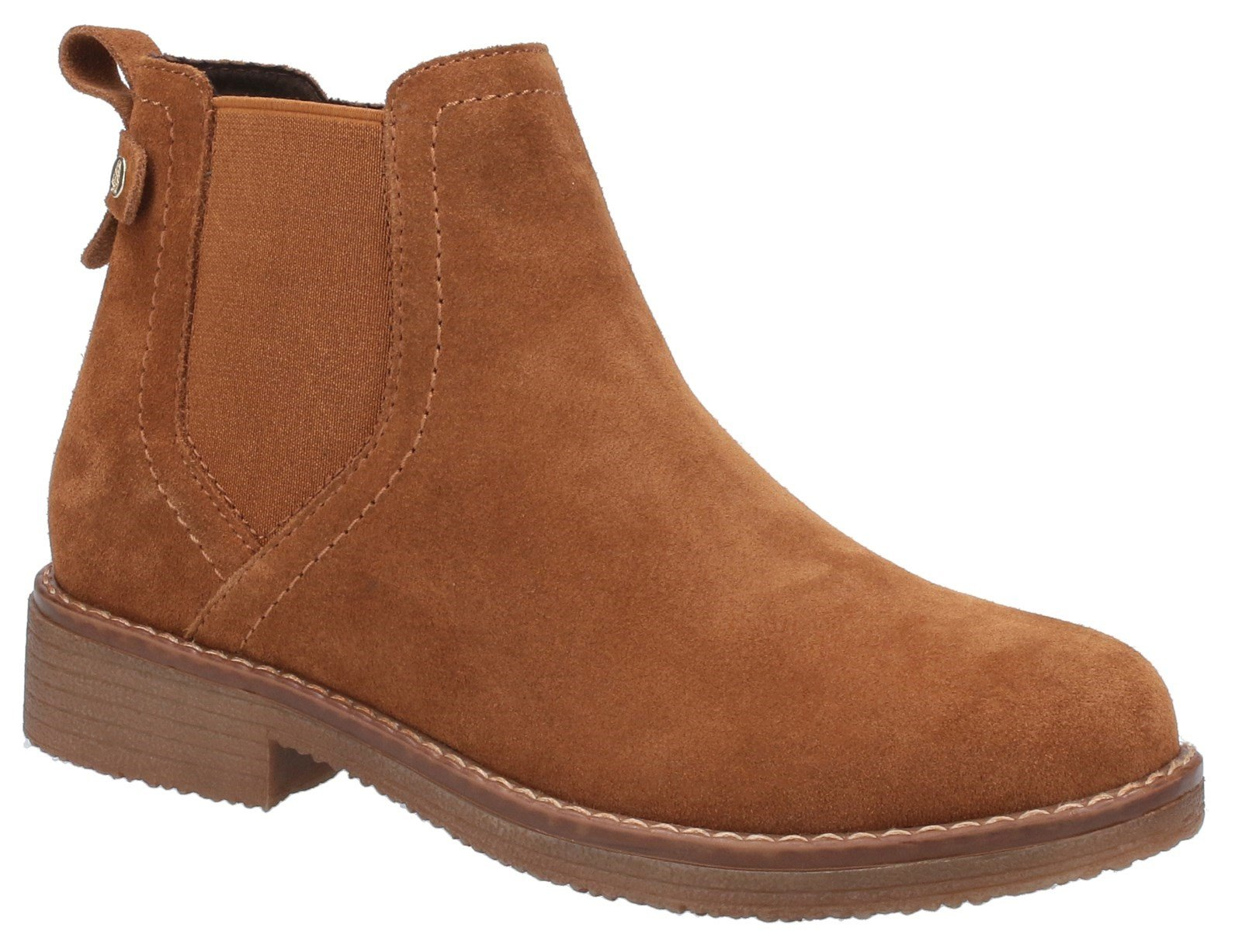 Hush Puppies Women's Maddy Ladies Ankle Boots Various Colours 31214 - Tan 3