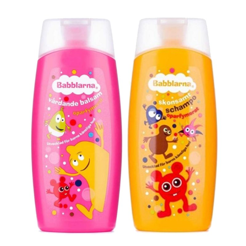 Shampoo & Hoitoaine - 50% alennus