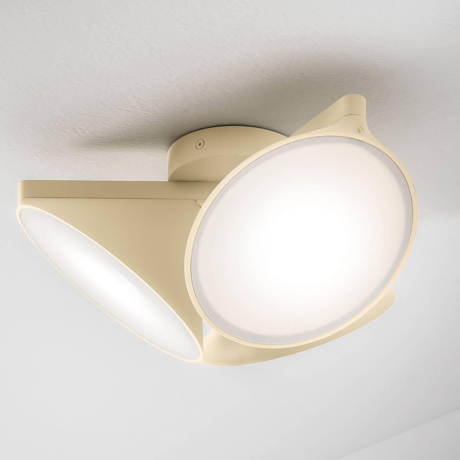 Axolight Orchid LED-kattovalaisin, hiekka