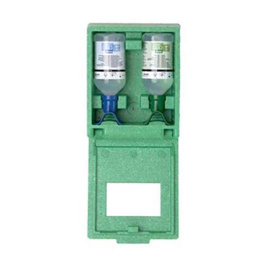 Plum Combibox DUO Silmähuuhdeasema sisältää pH Neutralia ja silmähuuhdetta