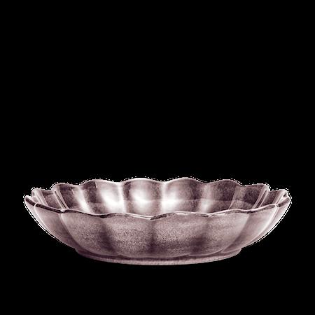 Ostronskål Stor Plommon 31 cm