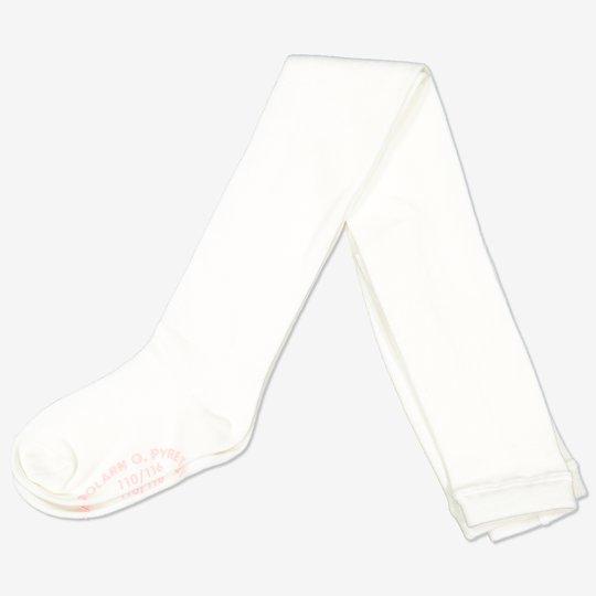 Strømpebukse med sklisikring hvit
