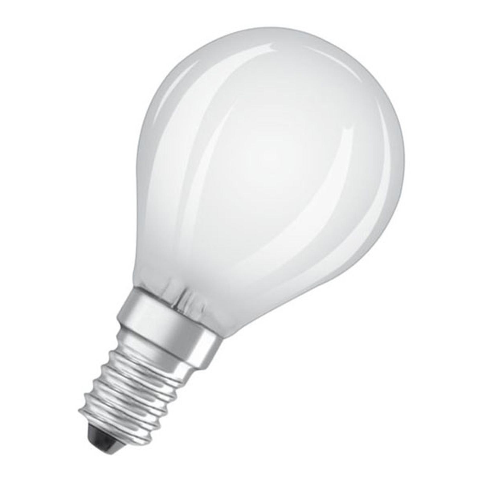 OSRAM Classic P -LED-lamppu E14 5W 4000K matta dim