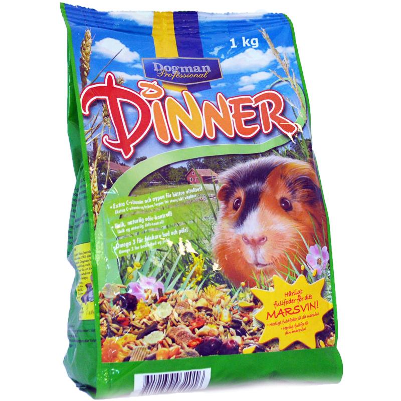 Marsvin Dinner 1kg - 33% rabatt