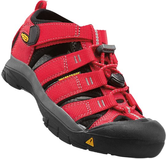 KEEN Newport H2 Sandal, Ribbon Red/Gargoyle 19