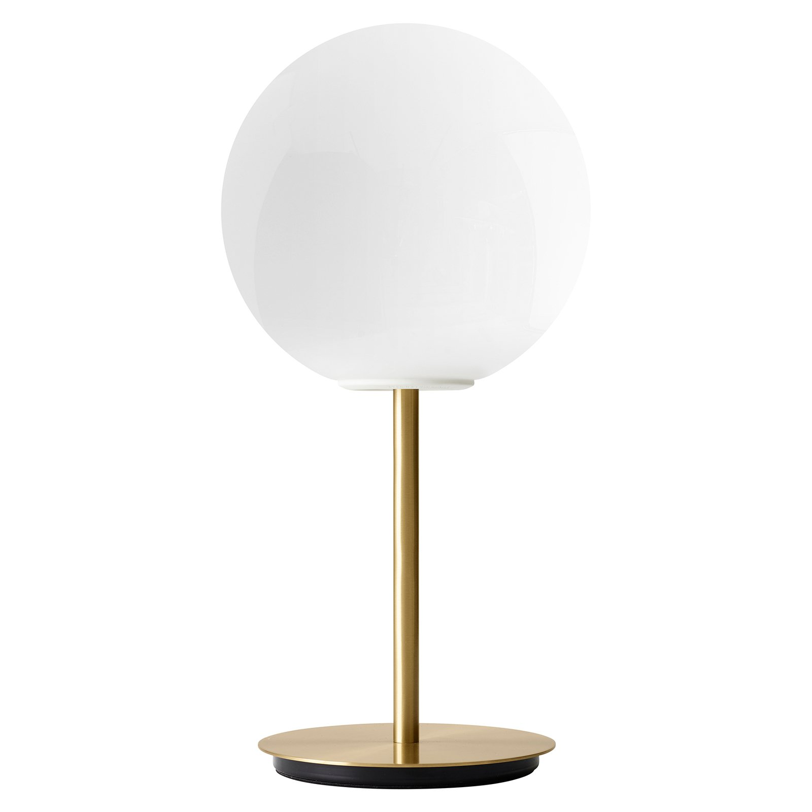 Menu TR Bulb bordlampe 41 cm messing/opal blank