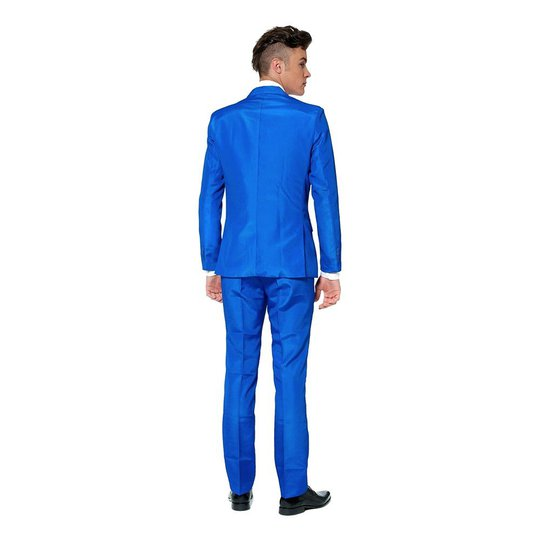 Suitmeister Blå Kostym - XX-Large