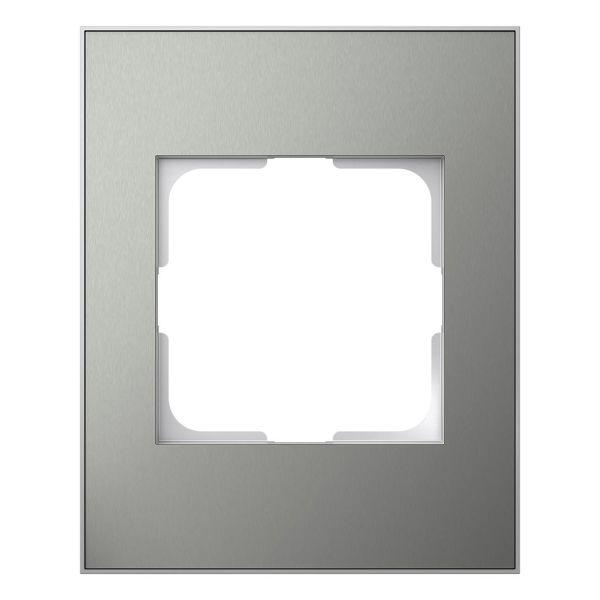 Elko EKO06177 Kombinasjonsramme til standardapparat, 1–1½-roms Blåmetall/aluminium