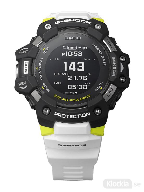 CASIO G-Squad Heart Rate Monitor GBD-H1000-1A7ER