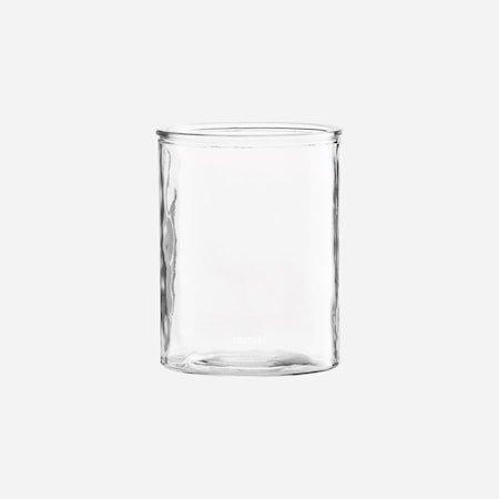 Vase Sylinder Glass 15 cm