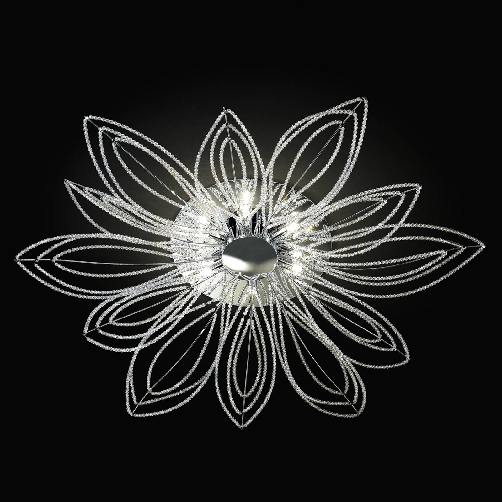 Kattovalaisin Girasole kukan muotoisena, 98 cm