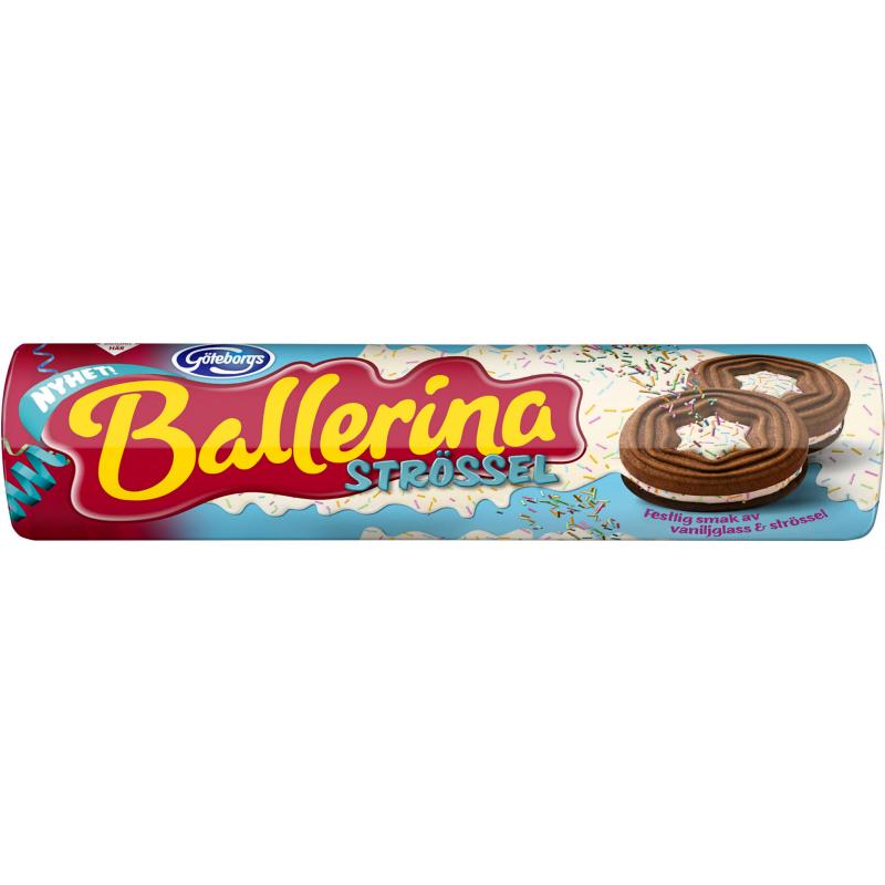 """Kakor """"Ballerina Strössel"""" 190g - 33% rabatt"""