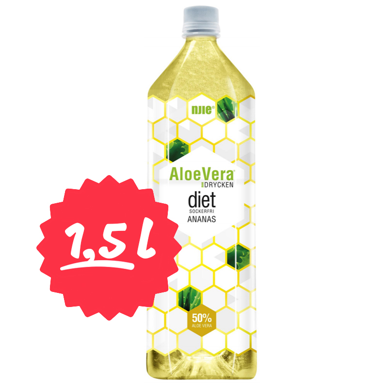 Aloe Vera-dryck Ananas 1,5l - 69% rabatt