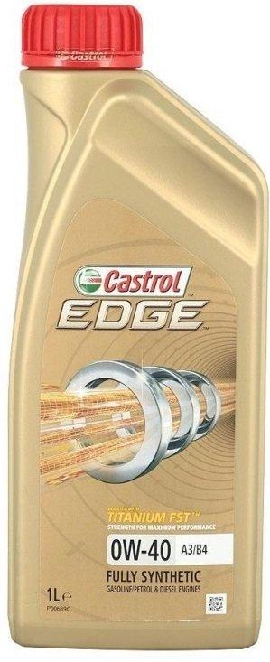 Moottoriöljy CASTROL 0W40 EDGE TITANIUM FST C3 1L