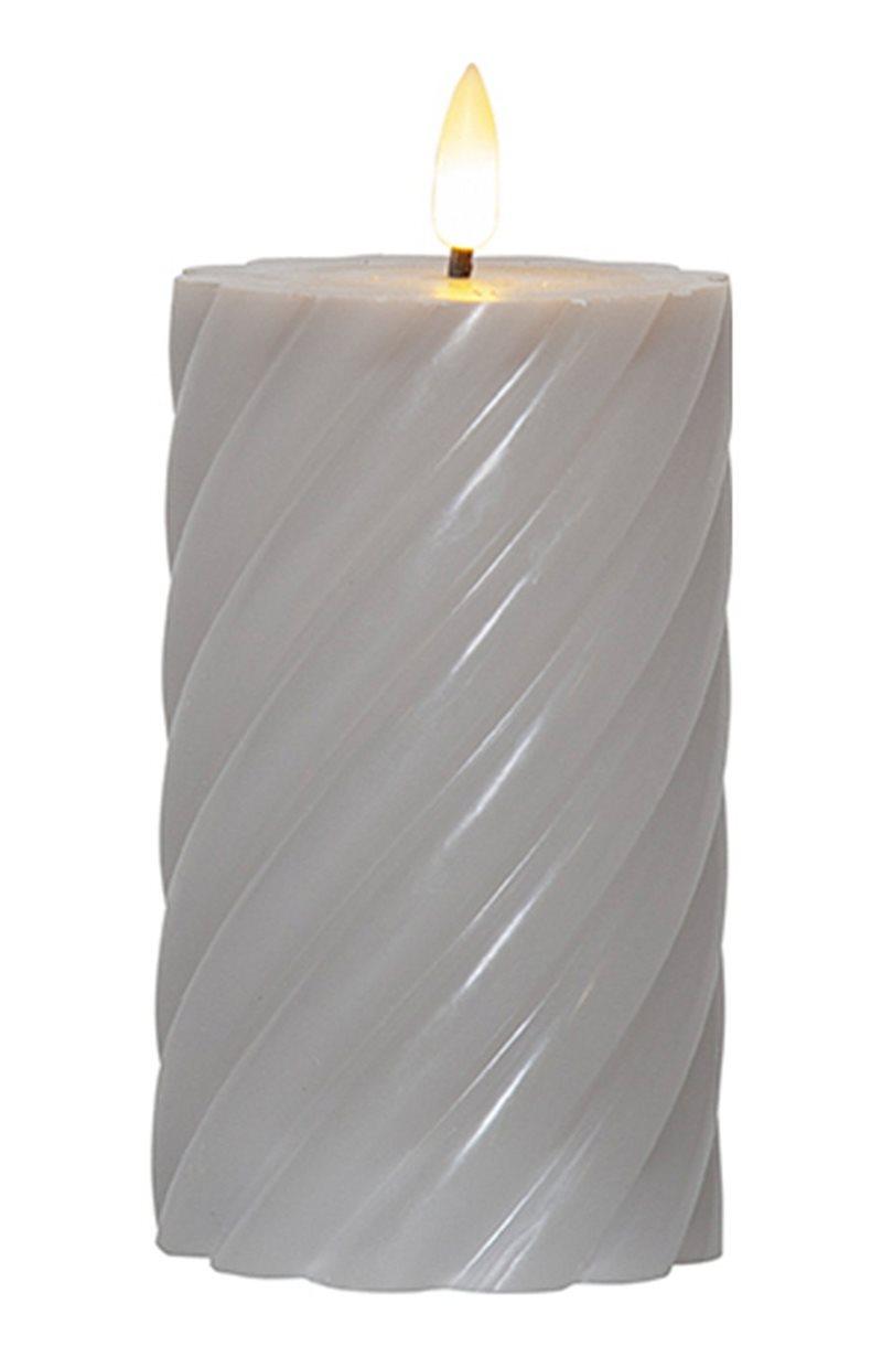 LED-pöytäkynttilä Flamme swirl