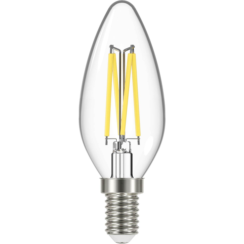 Elvita LED kron C35 E14 470lm filamen