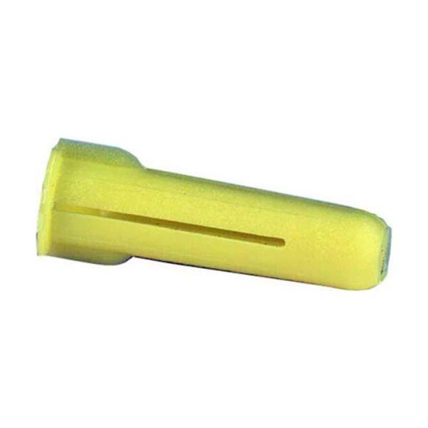 Schneider Electric 1001007 Tulppa 5,5 x 22 mm, keltainen, 100 kpl