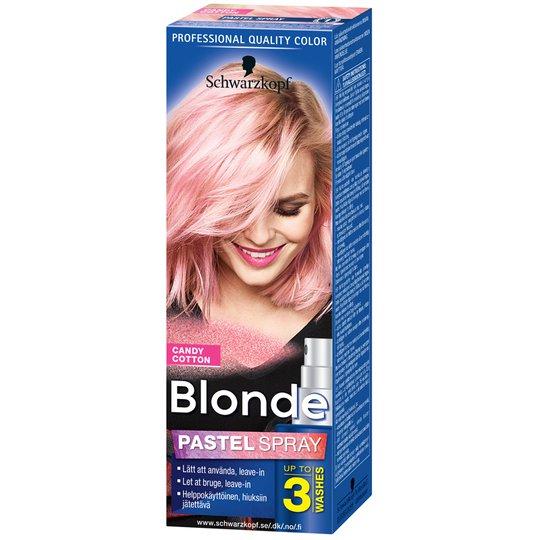 Hårfärg Blonde Pastel Spray Cotton - 80% rabatt