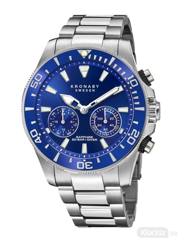 KRONABY Diver 45.5mm S3778/1 - Smartwatch