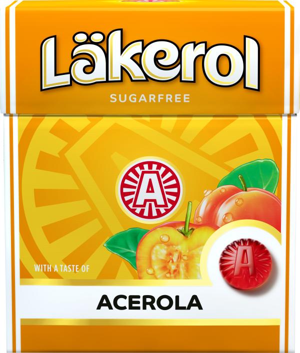 """Pastillit """"Acerola"""" Sokeriton 25g - 67% alennus"""