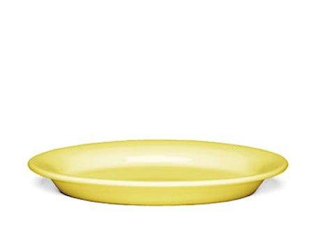 Ursula tallerken Gul Ø 22 cm