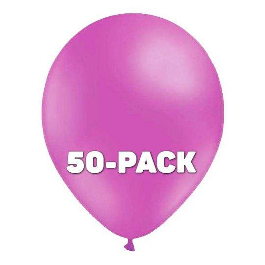 Ballonger Ljuslila - 50-pack