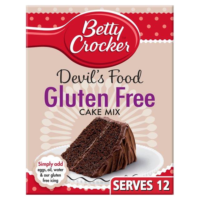 Betty Crocker Gluten Free Devils Food Cake Mix 425g