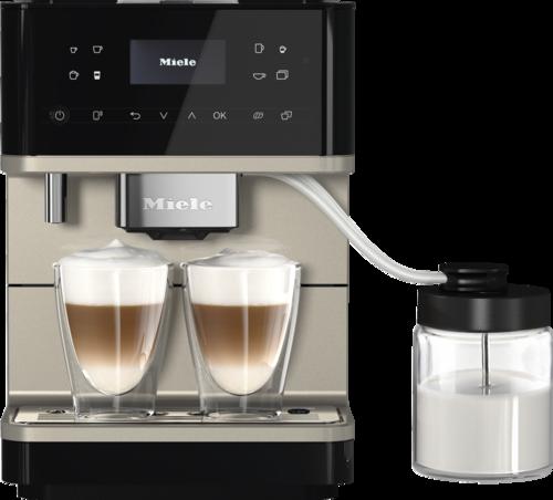 Miele Cm 6360 Milkperfection Obsedian Black/clean Steel Espressomaskin - Svart/silver