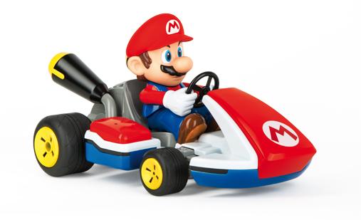 Carrera - Nintendo RC Car - Mario Kart Mario - Race Kart with Sound (370162107X)