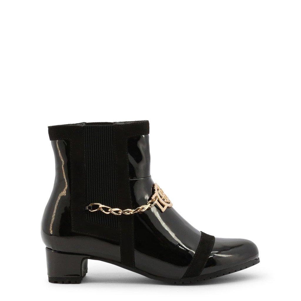 Roccobarocco Women's Ankle Boot Black RBSC1JW03STD - black EU 37