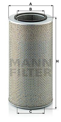 Öljynsuodatin MANN-FILTER H 20 440