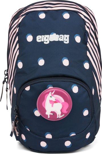 Ergobag Ease Dotty Ryggsekk 6L, Blue Rosa Dots