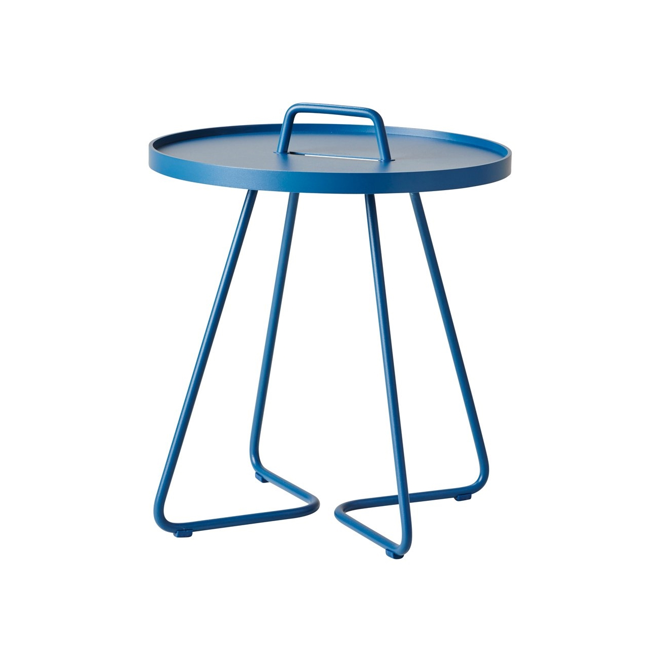 On-the-move bord dusty blue Cane-line