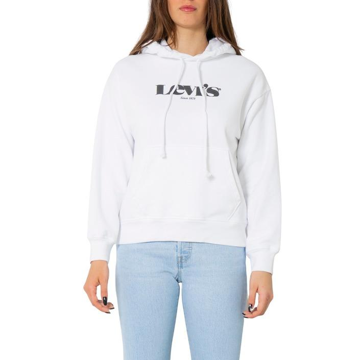 Levi`s Women's Sweatshirts White 270544 - white XXS