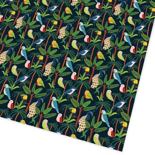 Jungle Birds Giftwrap