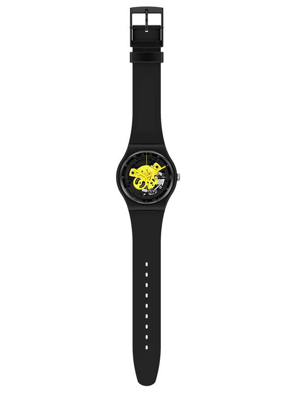 SWATCH Time To Yellow Big SO32B111 Herrklocka