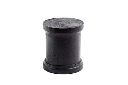 Spice Krukke S Svart Ny Teak 8,5x7,5 cm