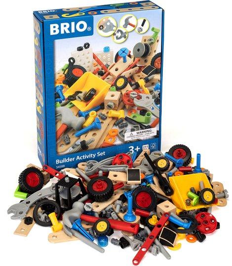 BRIO 34588 Byggesett Builder