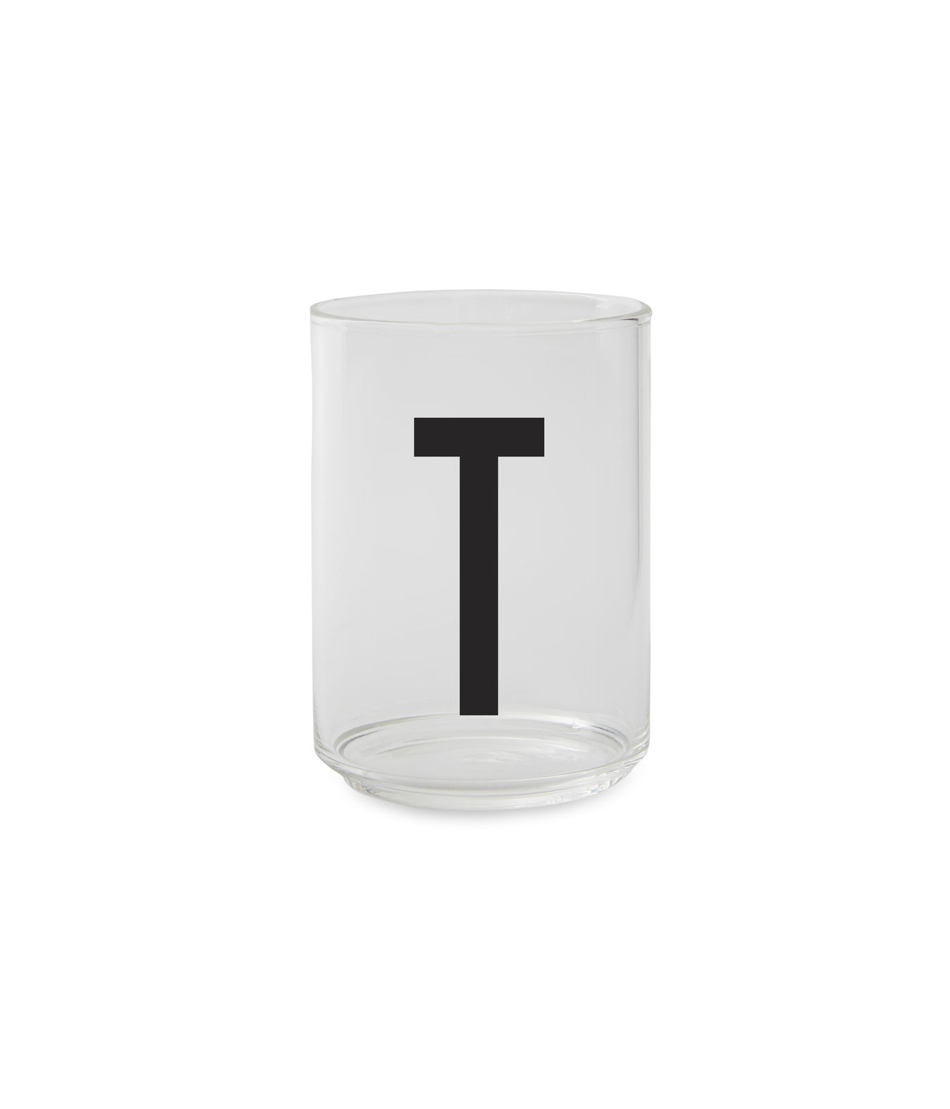 Design Letters - Personal Drinking Glass T (10205000T)
