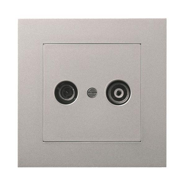 Elko EKO04007 Antenneuttak med kontakt Aluminium, 7 dB