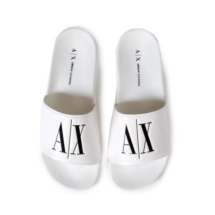Armani Exchange Women's Slipper White 173553 - white 35