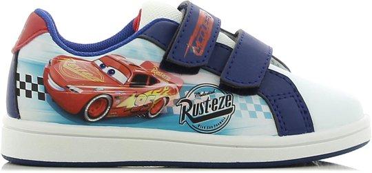 Disney Cars Sneaker, White/Blue 35