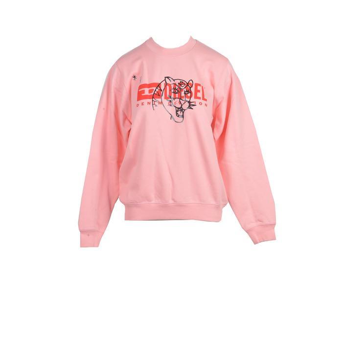 Diesel Women's Sweatshirt Pink 210808 - pink S
