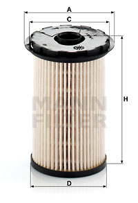 Polttoainesuodatin MANN-FILTER PU 7002 x