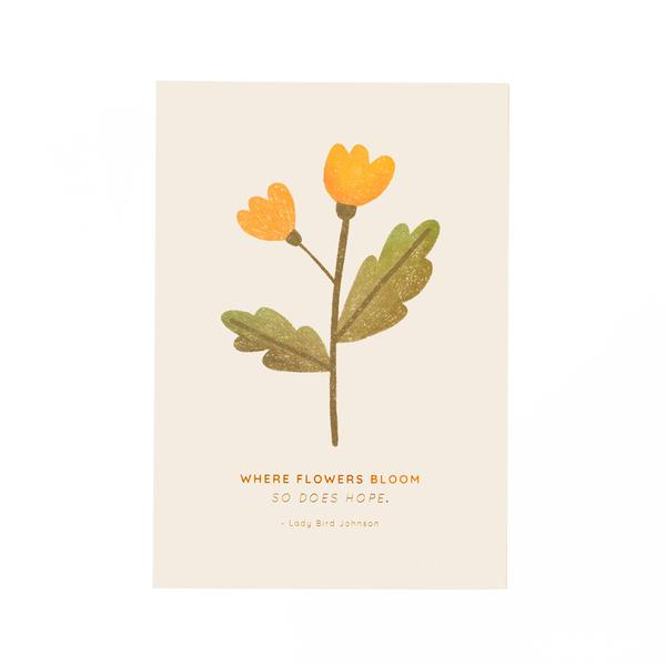OUTLET Poppy Art Print A5