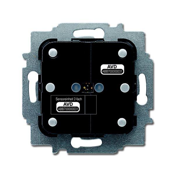 ABB 6133-0-0223 Painikerunko upotettava 2-napainen