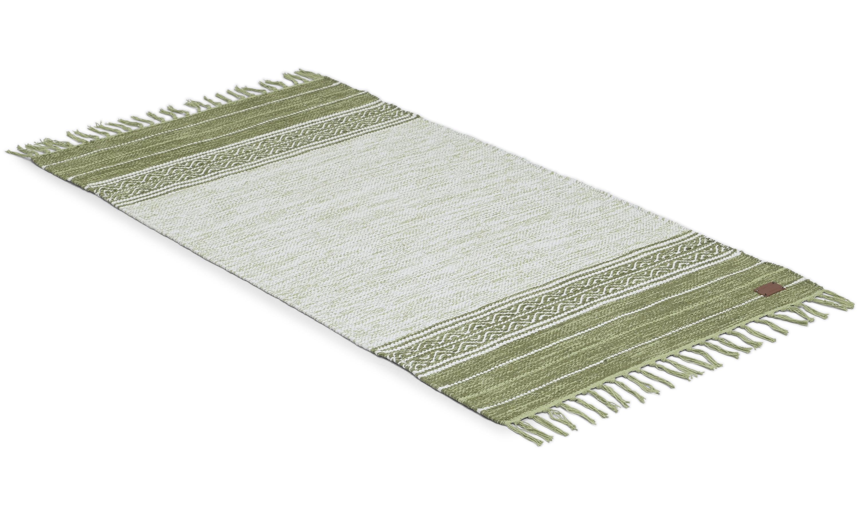 Grundsund grønn - bomullsteppe