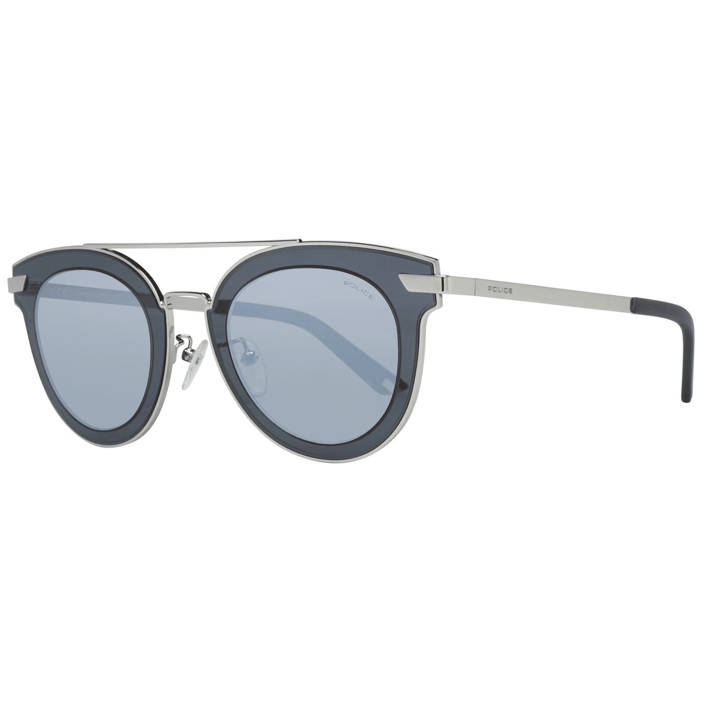 Police Men's Sunglasses Silver SPL349 47579X