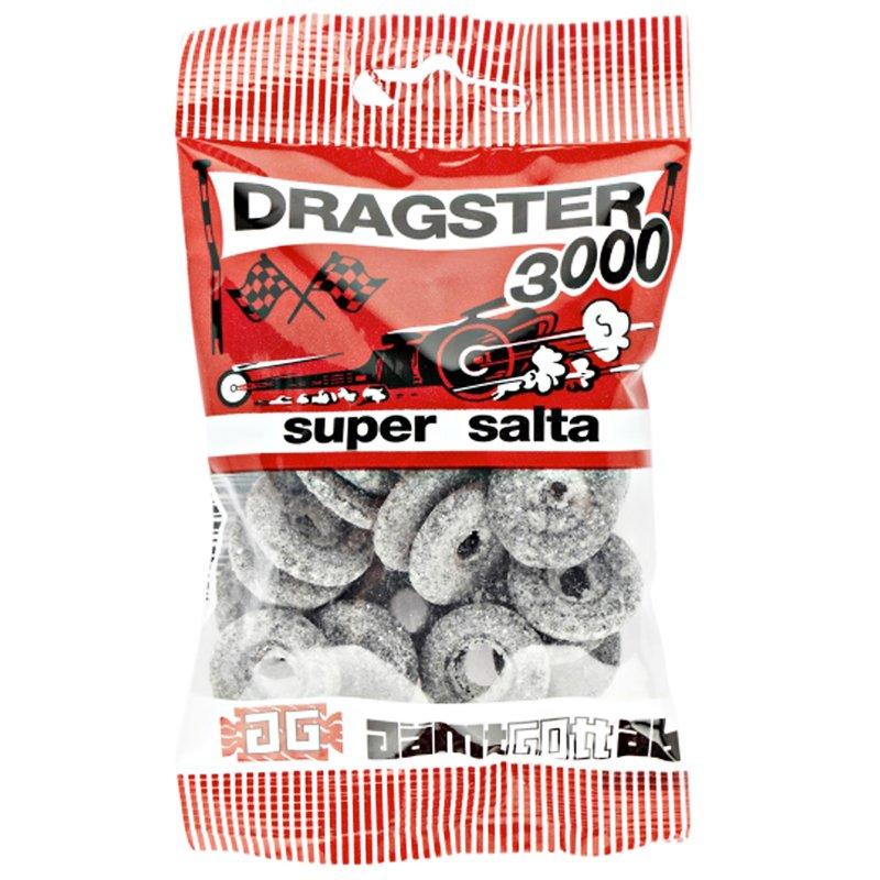 "Godis ""Dragster Supersalta"" 65g - 50% rabatt"